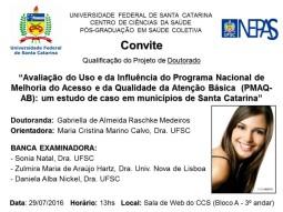 Convite Qualificação - Gabriella